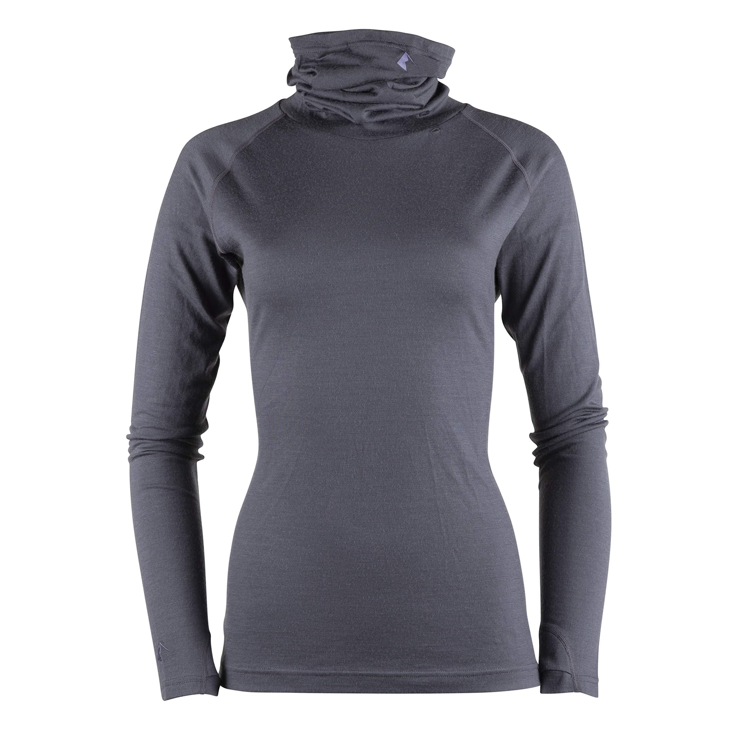 Ridge Merino Women's Aspect Merino Wool High Neck Top