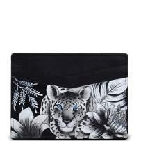 Anuschka Women's Genuine Leather Wallet | Hand Painted Original Artwork | Credit Card Case