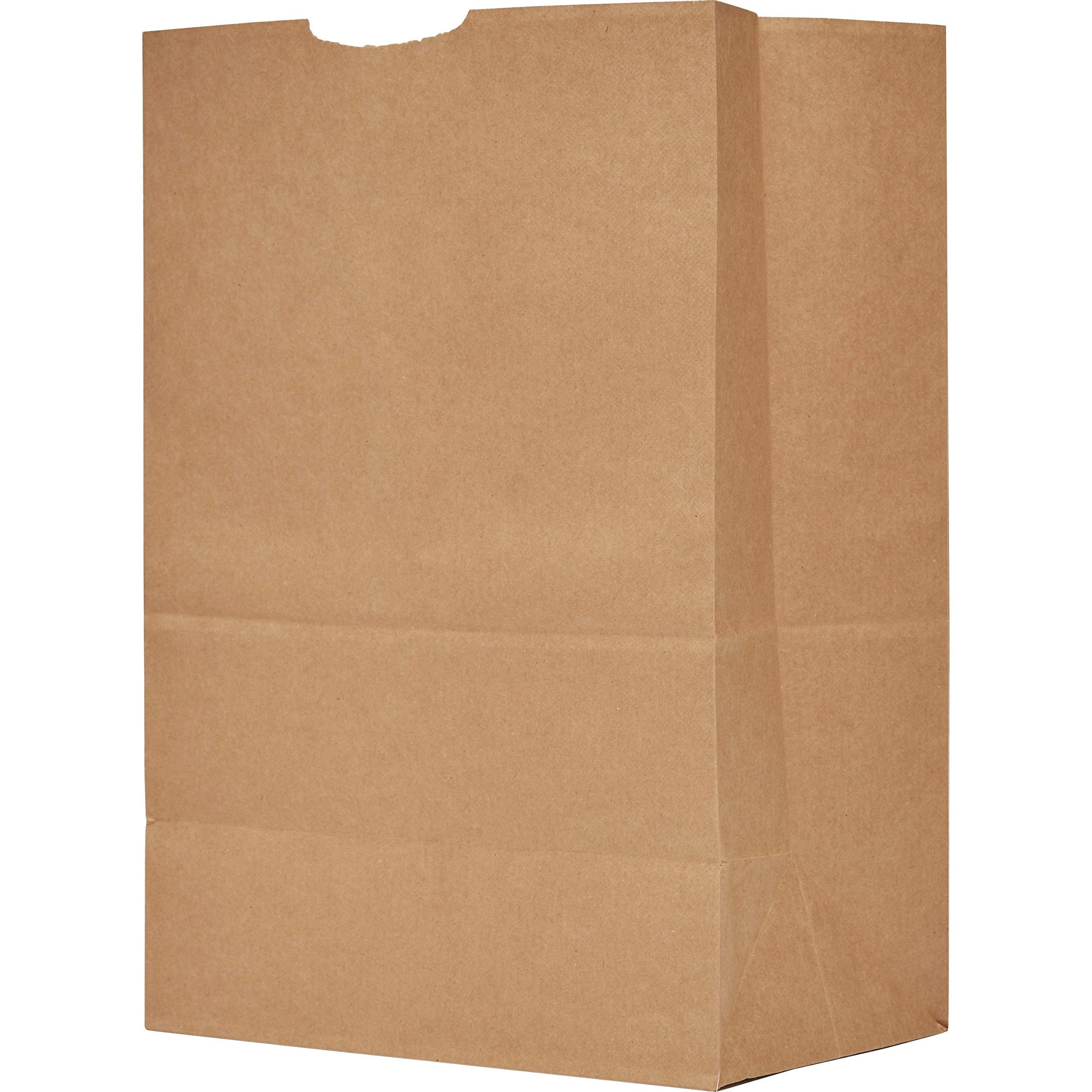 """(#12-25 pcs) Kraft Brown Paper Bags Reusable Grocery Bags Great Gift Bag Recyclable Shopping Bags Lunch Snack Bags Size 7.5""""L x 4.5"""" x 14.0""""H"""