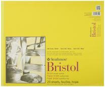 "Strathmore 300 Series Bristol Smooth Pad, 14""x17"" Tape Bound, 20 Sheets"