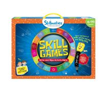 Skillmatics Educational Game: Skill Games (6-99 Years)   Erasable and Reusable Activity Mats with 2 Dry Erase Markers   Learning Tools for Boys and Girls 6, 7, 8, 9 Years