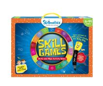 Skillmatics Educational Game: Skill Games (6-99 Years) | Erasable and Reusable Activity Mats with 2 Dry Erase Markers | Learning Tools for Boys and Girls 6, 7, 8, 9 Years