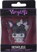 "Vamplets Werewolf Baby Minifigure Toy - Howliss Mini Figure from Soft & Flexible Plastic - 2"" Tall - Collect Them All"