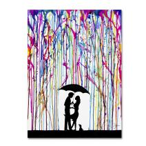 Two Step by Marc Allante, 14x19-Inch Canvas Wall Art