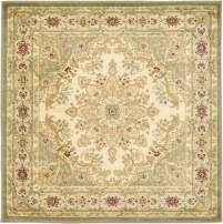 Unique Loom Versailles Collection Traditional Classic Cream Square Rug (4' 0 x 4' 0)