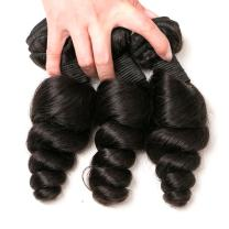 DAIMER Loose Wave Bundles 18 20 22 Inch Malaysian Virgin Unprocessed Human Hair Weave 10A Grade Sew In Hair Extensions For Black Women Natural Black