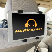 Gear Beast Car Back Seat Headrest Mount Holder for 7 to 10-Inch Tablets