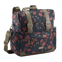 JJ Cole Knapsack Diaper Bag, Navy Floral