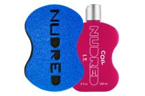 Coil I.T. SET | Nudred Hair Products Protect Hair from Pulling and Breaking with BLUE Hair Sponge for Men/Women | The Original NUDRED Natural Hair Care System