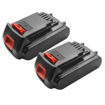 Bonacell 2 Pack 20V 2000mAh Lithium-Ion Replacement Battery Compatible with Black & Decker LBXR20 LB20, LBX20 Cordless Tool Battery