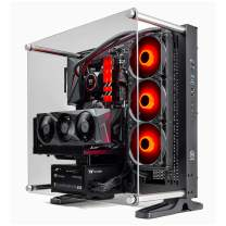 Thermaltake LCGS Shadow 370 AIO Liquid Cooled CPU Gaming PC (AMD RYZEN 7 3700X 8-core, ToughRam DDR4 3600Mhz 16GB RGB Memory, NVIDIA RTX 3070, 1TB NVMe M.2, WiFi,Win 10 Home) P3BK-B550-S37-LCS, Black