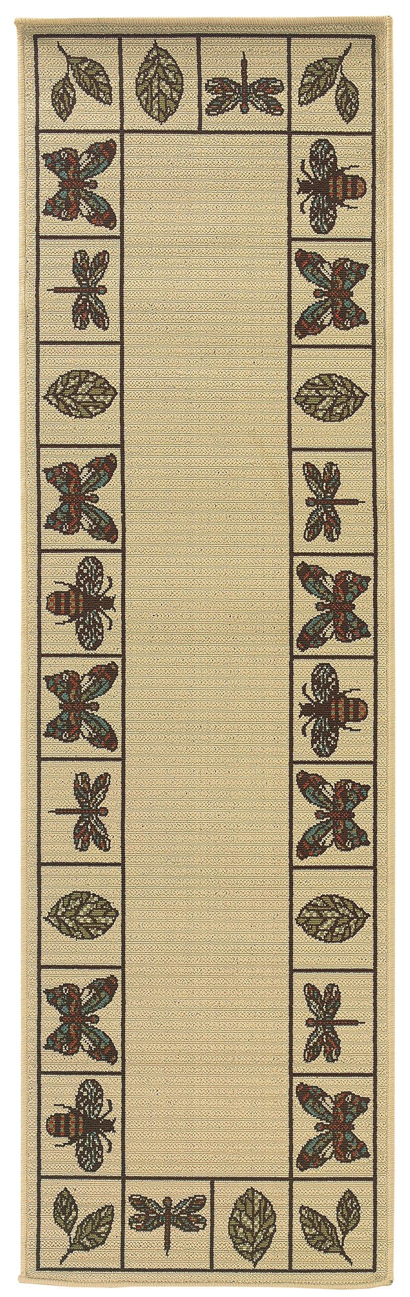 Oriental Weavers Montego 2266W Area Rug, 2-Feet 3-Inch by 7-Feet 6-Inch