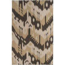 Surya Jewel Tone JT-2034 Flatweave Hand Woven 100% Wool Bronze 2' x 3' Global Accent Rug