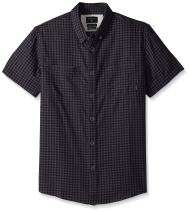 Quiksilver Men's Forte Night Short Sleeve Button Down