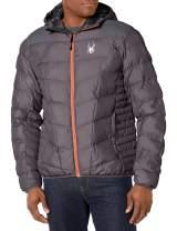 Spyder Men's Geared Hoody Synthetic Down Jacket
