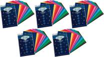 """Pacon Spectra(R) Assorted Color Tissue Pack, 12"""" x 18"""", 25 Colors, Pack of 100 Sheets (59530), 5 Pack"""