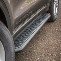 ARIES 2061033 AeroTread 67-Inch Black Stainless Steel SUV Running Boards Select Chevrolet Equinox, GMC Terrain