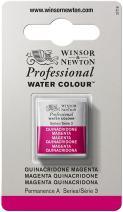 Winsor & Newton Professional Water Colour Paint, Half Pan, Quinacridone Magenta