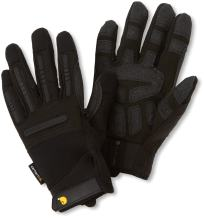 Carhartt Men's Ballistic Spandex Work Glove with TPR Knuckle Protection