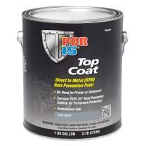 POR-15 46601 Top Coat Flat Gray Paint 128. Fluid_Ounces, 1 gallon