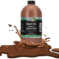 Pouring Masters Copper Penny Metallic Acrylic Ready to Pour Pouring Paint – Premium 32-Ounce Pre-Mixed Water-Based - for Canvas, Wood, Paper, Crafts, Tile, Rocks and More