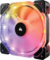 Corsair HD Series HD140 RGB LED 140mm High Performance RGB LED PWM Single Fan No Control Corsair HD Series