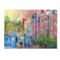 Boston by Richard Wallich, 24x32-Inch Canvas Wall Art