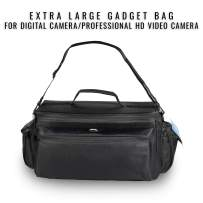 Ultimaxx's Professional Well-Padded Extra-Large Water-Resistant Gadget Bag Compatible with Sony FDR-AX1, HDR-FX1000, HVR-Z1U, HVR-Z5U, HVR-Z7U, HVR-V1U, HVR-S270U, and More.