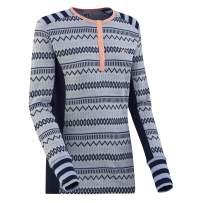 Kari Traa Women's Akle Base Layer Top - Long Sleeve 100% Merino Wool Thermal Shirt