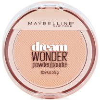 Maybelline New York Dream Wonder Powder Makeup, Ivory, 0.19 oz.