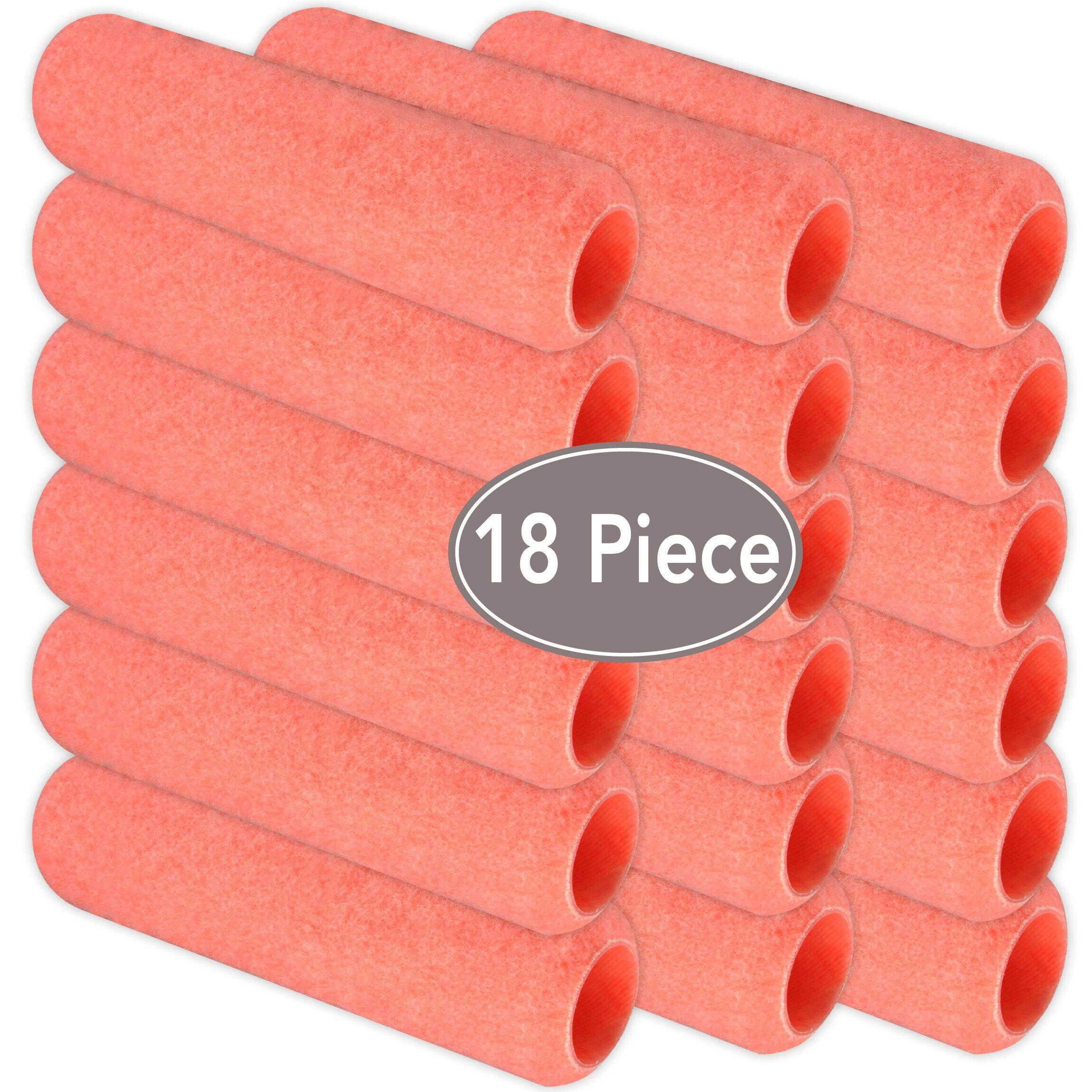 KINGORIGIN Brand 18 Piece,Paint Roller,Paint Rollers,Paint Roller Sets,Paint Roller Covers 9 inch,Paint Roller kit,Paint Tools,Home Repair Tools,Tools