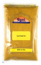 Rani Brand Authentic Indian Products Rani Curry Powder Hot Natural Spice Blend 400g (14oz) Salt Free Gluten Free, Light brown