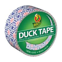 Duck Brand 284575 Printed Duct Tape, Arabesque, 1.88 Inches x 10 Yards, Single Roll