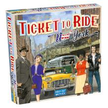 Ticket to Ride New York Board Game | Family Board Game | Board Game for Adults and Family | Taxi Game | Ages 8+ | For 2 to 4 players | Average Playtime 10-15 minutes | Made by Days of Wonder