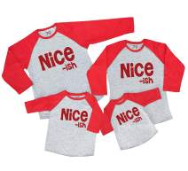 7 ate 9 Apparel Matching Family Christmas Shirts - Funny Nice ish Red Shirt