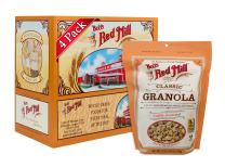 Bob's Red Mill Natural Whole Grain Granola, 12-ounce (Pack of 4) (Package May Vary)