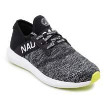 Nautica Women Fashion Sneaker Lace-Up Jogger Running Shoe Casual Walking Sneaker