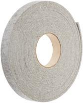 "Grade F3 Pressed Wool Felt Strip, Gray, Meets SAE J314, 1/2"" Thickness, 2"" Width, 10' Length"