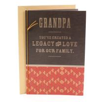 Hallmark Mahogany Father's Day Card for Grandfather (Legacy of Love)