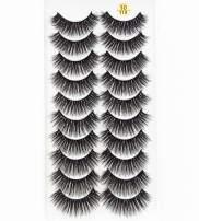 HBZGTLAD 38 Styles 10 pairs natural false eyelashes fake lashes long makeup 3d mink lashes extension eyelash mink eyelashes for beauty (3D110)