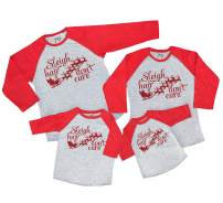7 ate 9 Apparel Matching Family Christmas Shirts - Sleigh Hair Red Shirt