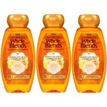 Garnier Whole Blends Shampoo and Conditioner,Moroccan Argan & Camelilia Oils ,  12.5 Fl Oz, 3 Count