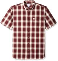 Carhartt Men's Big and Tall Big & Tall Essential Plaid Button Down Short Sleeve Shirt