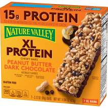 Nature Valley Granola Bars, Peanut Butter Dark Chocolate, Gluten Free, 7 Count, 14.84Oz, Pack of 6