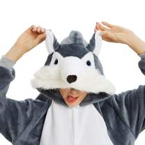 Onesie Pajamas for Women Adult Onepiece Unicorn Christmas Costume Halloween Animal Unisex Cosplay Cartoon