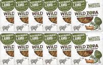 Wild Zora Mediterranean  All Natural Lamb & Organic Veggie Bars (12 Pack) - AIP-friendly, No Nightshades, Gluten-Free, No Antibiotics, No Added Hormones