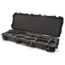 Nanuk 990 Waterproof Professional Gun Case with Foam Insert for AR w/Wheels - Black