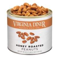 Virginia Diner - Gourmet Extra Large Honey Roasted Virginia Peanuts, 36 Ounce Tin
