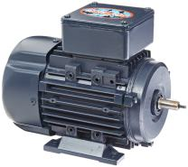 Leeson 192011.00 Rigid Base IEC Metric Motor, 3 Phase, D63 Frame, B3 Mounting, 0.25HP, 1800 RPM, 230/460V Voltage, 60/50Hz Fequency