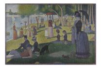 A Sunday Afternoon (Artist: Georges-Pierre Seurat) c. 1884 - Masterpiece Classic (Premium 1000 Piece Jigsaw Puzzle for Adults, 19x27, Made in Germany)
